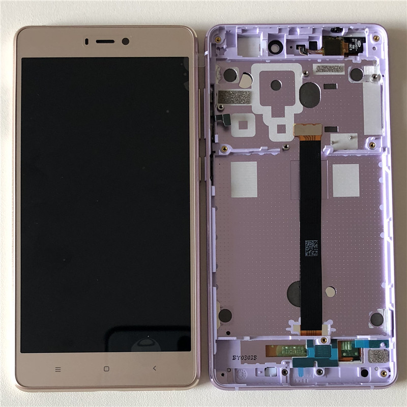 D'origine M & Sen Pour 5.0 Xiao mi 4S mi 4S mi 4S M4S LCD Écran Affichage + Tactile panneau Digitizer Cadre Pour Xiao mi mi 4S Lcd Affichage