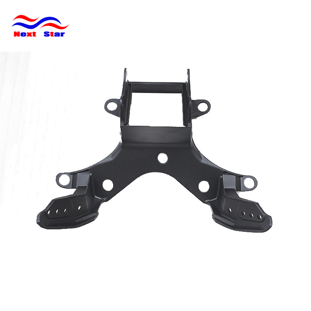 Motorcycle Black Metal Front Head Light Frame Headlight Bracket For YAMAHA YZF R6 YZF-R6 2008 2009 2010 2011 2012 2013 2014 2015