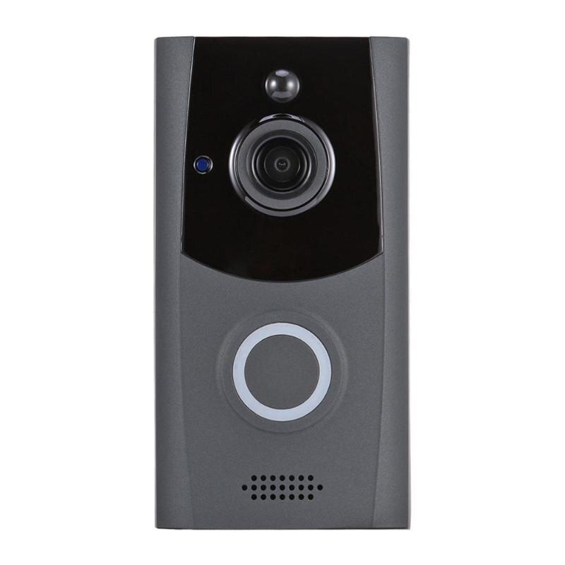 Smart Wireless WiFi Security Doorbell Visual Intercom Video Door Phone Home Security APP ControlSmart Wireless WiFi Security Doorbell Visual Intercom Video Door Phone Home Security APP Control