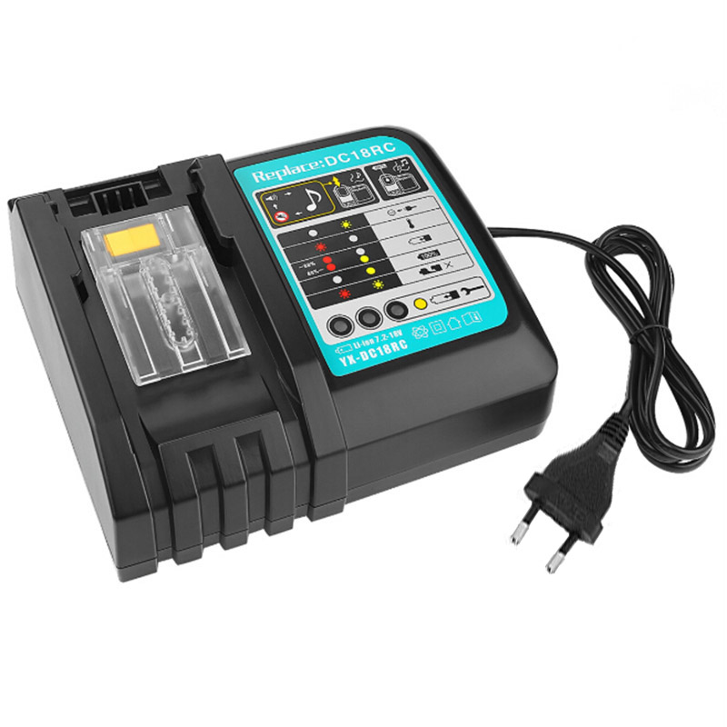 Fast Lithium Battery Charger For Makita DC18RA DC18RC 14.4V-18V ChargerFast Lithium Battery Charger For Makita DC18RA DC18RC 14.4V-18V Charger
