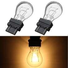 2 шт. Универсальный 3157 яркий светильник, лампы, задний светильник, тормозной светильник, задний стоп-сигнал для автомобиля/грузовика/мотоцикла