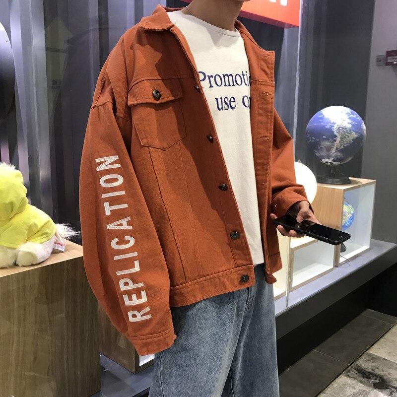 Printemps nouvelle veste hommes mode solide couleur décontracté veste homme rue tendance sauvage Hip Hop lâche Bomber veste mâle vêtements M-2XL