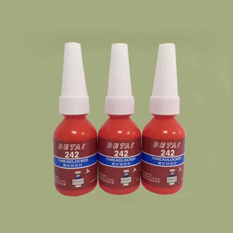 1 шт./4 шт. 10 мл 242 жидкий клей синий анаэробный клей съемный герметик резьба супер клей для металлических поверхностей и винта