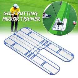 23,5x44,5 см гольф качели прямо практика положить зеркало выравнивание Тренер устройство для тренировки замаха аксессуары для игры в гольф