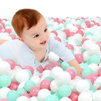 Thicken Environmental Protection Marine Ball Outdoor Toys For Children 6.5cm Children Baby Play Field Toy Ball 100 Pack