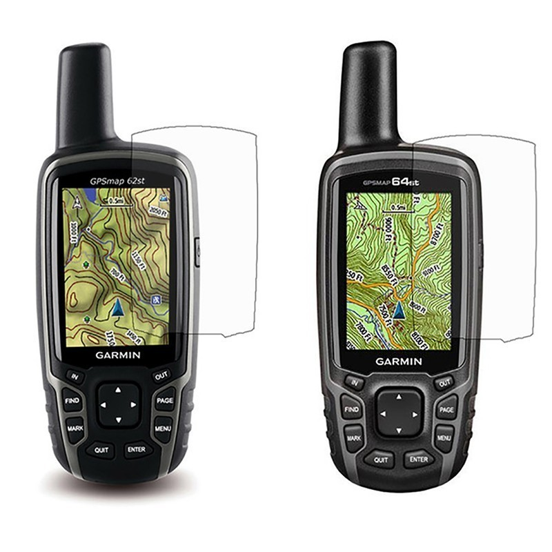 3PCS For Garmin Astro 320 220 GPSMap 62 64 62st 64st 62s 64s Clear LCD Screen Protector Cover Film Skin For Garmin Astro