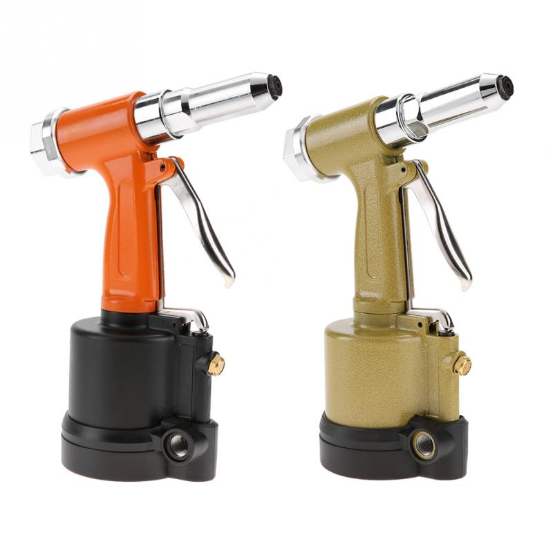 Industrial Light Weight Hydraulic Type Air Riveter Pneumatic Nail Gun Riveting Power Tools With Wrench Inlet