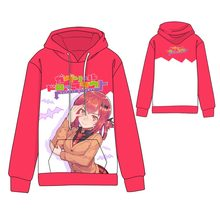 Hot  Anime Gabriel DropOut Cosplay Hoodies Standard Hooded Winter Tops Unisex Creeper funny Sweatshirts