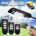 20-90 W Zonne-energie LED Wandlamp Straat Licht Verlichting Waterdichte Afstandsbediening Lamp Aangedreven voor Outdoor Tuin Binnenplaats