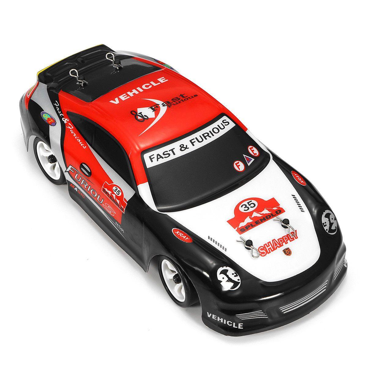 K969 1/28 2.4G 4WD brossé RC voiture haute vitesse dérive voiture jouet pour enfants, prise EU