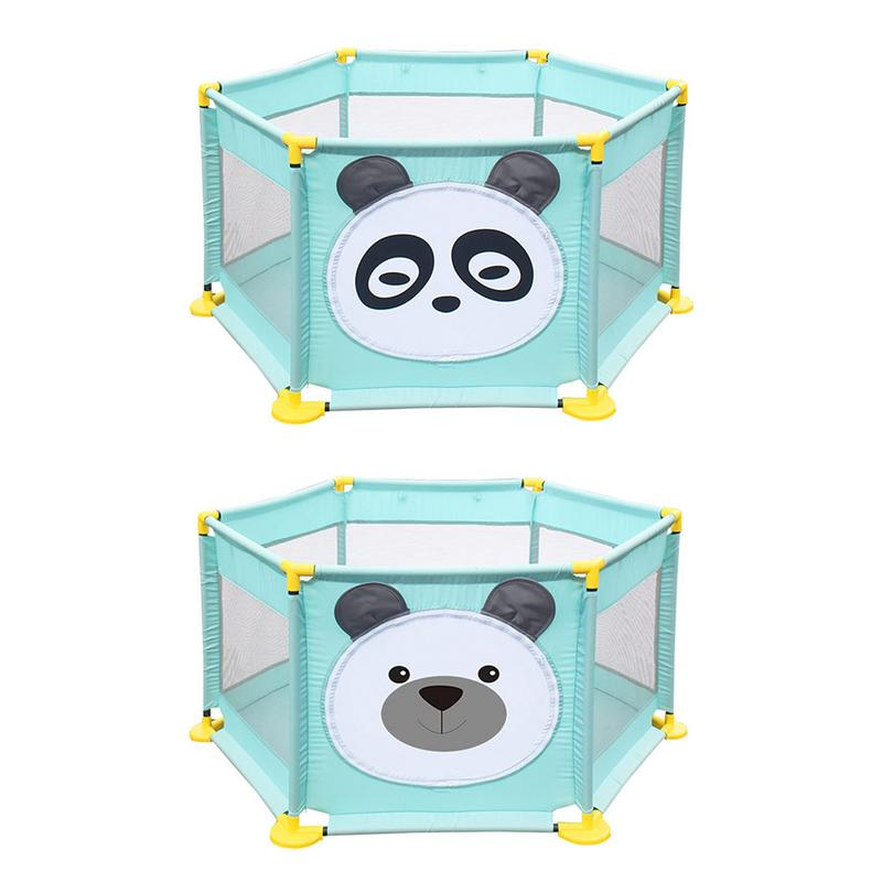 Children's Hexagonal Playpen Playard Toys Washable Ocean Ball Pool Set Baby Bed Fence Home Safety Gate Products