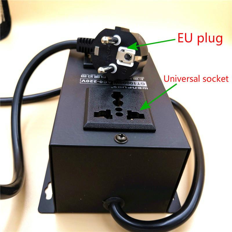 EU 10000W high power thyristor electronic regulator thermostat motor fan speed controller AC220V
