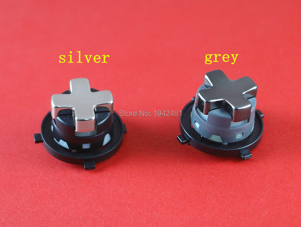 2pcs/lot Transforming Rotating D-PAD For Xbox 360 New Version Chrome Grey Black Or Silver Black Base