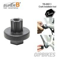 Ferramenta de instalação de manivela  super b tb-8911 plástico para remoção e instalação do braço  tampa de ajuste de manivela  adequada para shimano hollowtech ii