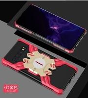 For Samsung S 10 Plus S10+ Case S10Plus Armor Metal Aluminum Hero Mechanical case for Samsung S10 S10E Shockproof Cover + Film