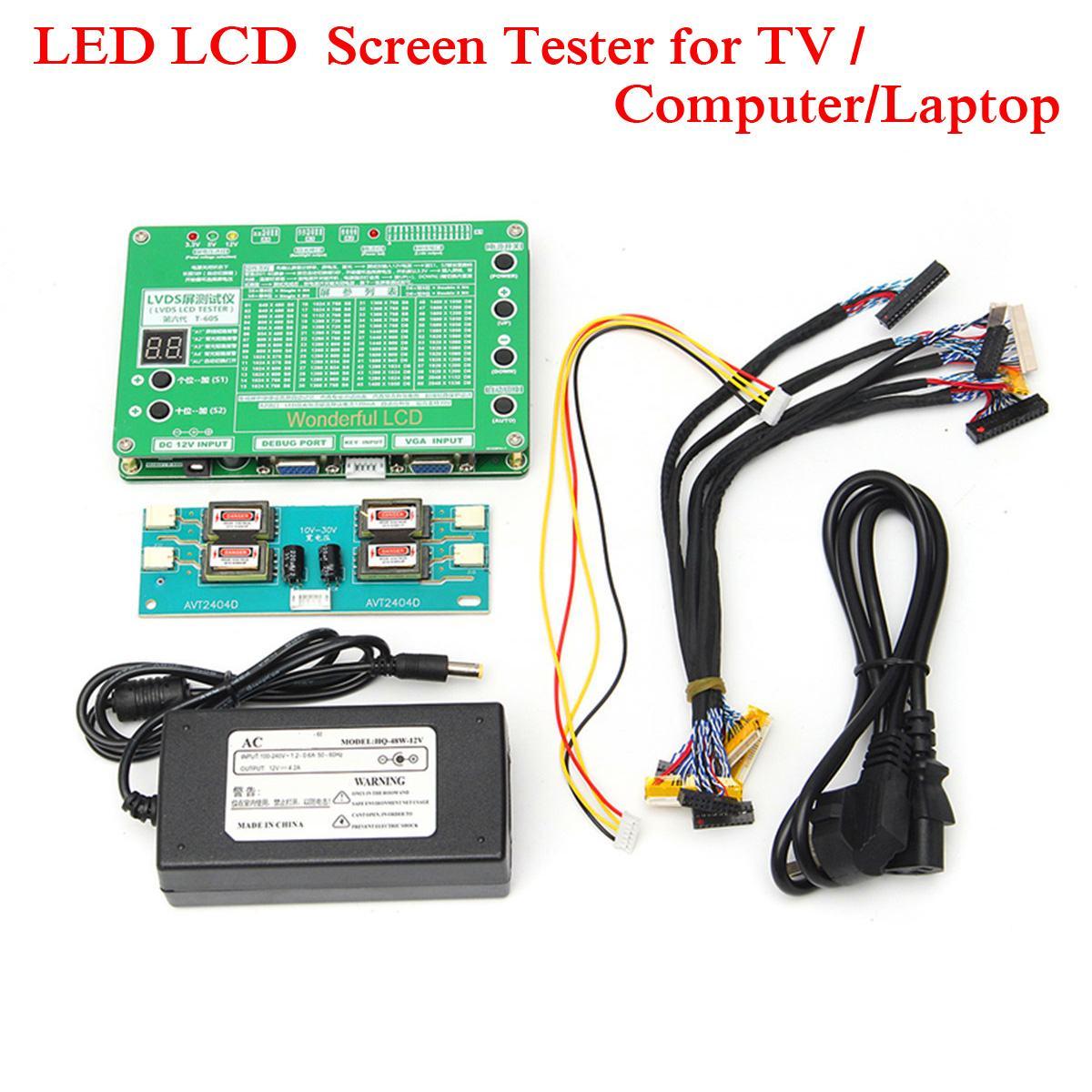 5.6-84 pouces LVDS Écran Testeur LCD led Panneau Testeur TV/Ordinateur/Ordinateur Portable outil de réparation