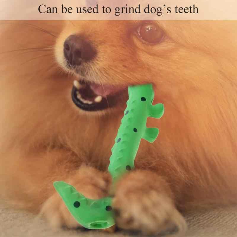 Durevole Lucertola-modello di Sicurezza Cane di Animale Domestico Del Cucciolo di Digrignamento Dei Denti Mordere Giocattolo
