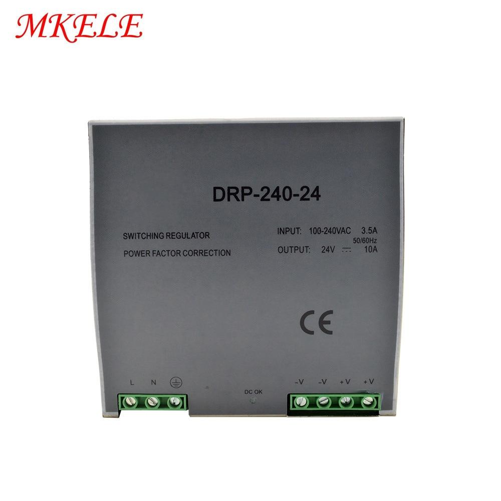 24V 48V CCTV 240W 12V Switching Mode Led Lighting Power Supply DR-24024V 48V CCTV 240W 12V Switching Mode Led Lighting Power Supply DR-240