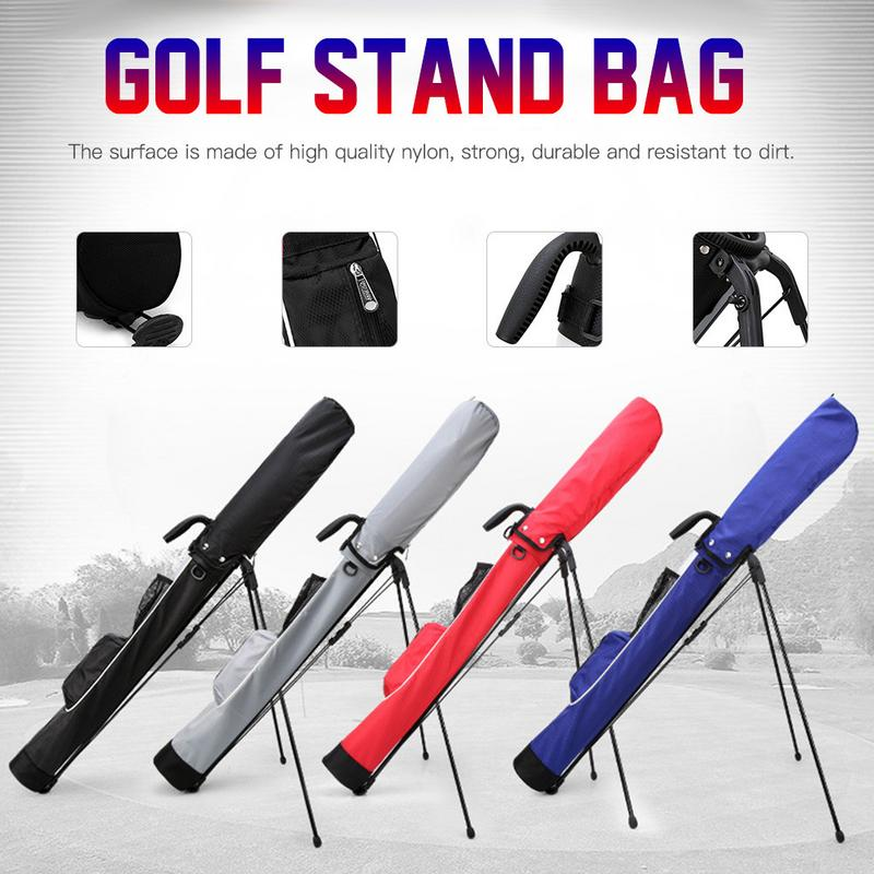 2019 New Portable Golf Bag Golf Support Bag Super Light And Large Capacity Gun Bag Waterproof High Quality Profession Essential