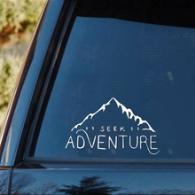 Seek Adventure Wanderlust Decal Vinyl Sticker Cars Trucks Vans Fashion Personality Creativity