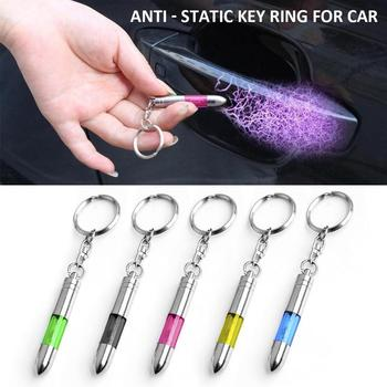 Anti Static Keychain Mini Car Static Eliminator Electricity Discharge ESD Strap