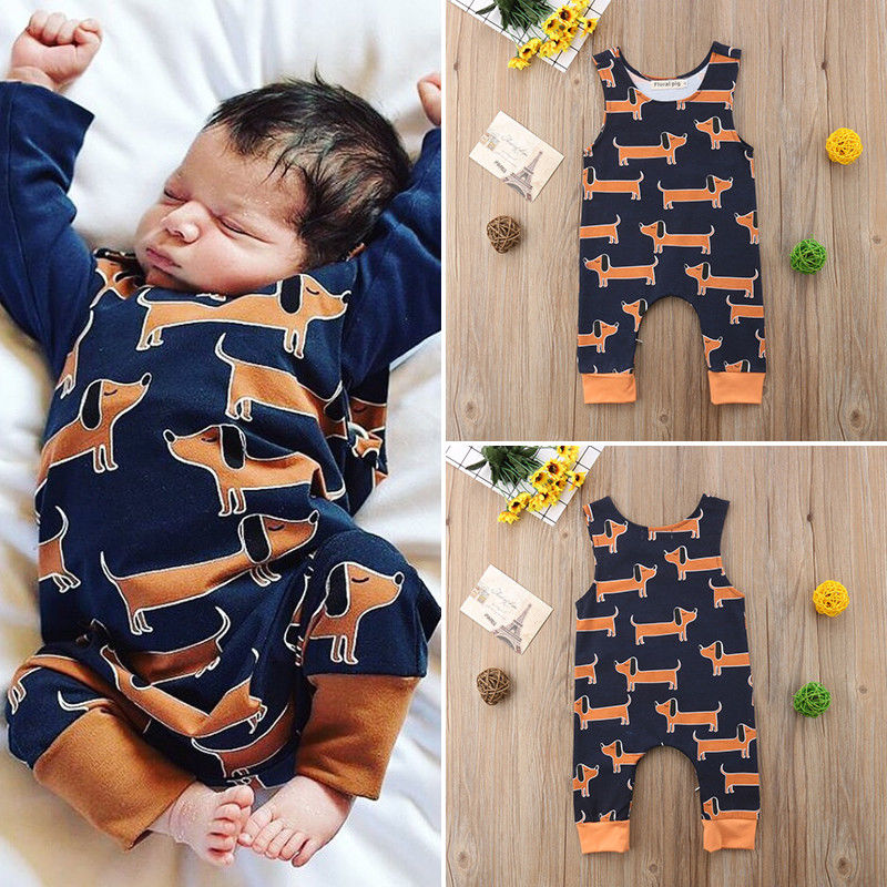 Pudcoco Baby Jumpsuits 3-18M Toddler Newborn Baby Boy Girl Cotton   Romper   Jumpsuit Outfits Clothes