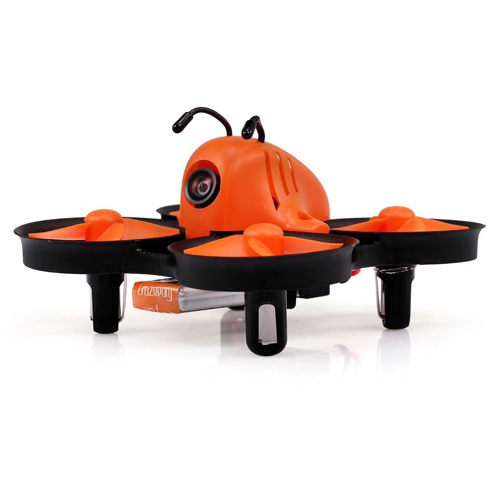 2018 new eachine tx04 pal super mini light aio 5 8g 40ch 25mw vtx 700tvl 120 degree wide angle fpv camera for rc racer racing Makerfire RC Racer Drone Armor 80 Lite Mini 5.8G 40CH FOV 800TVL Wide-angle Camera RC FPV Racing Dron Quadcopter for Beginner