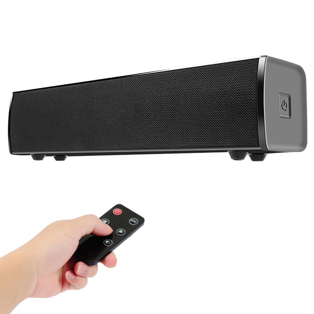 Wireless Bluetooth Speaker Soundbar Home Theater Bass Subwoofer Stereo Sound Box RCA AUX IN Music Play For TV PC Laptop Computer