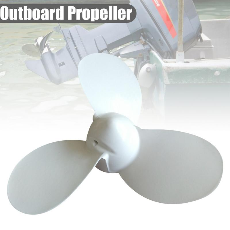 Quality Aluminium Propeller For Yamaha Honda 2.0HP 2HP 2.5HP Outboard Motor Parts 7 1/4 X 5 - A