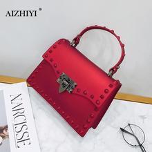 Маленькие заклепки женская сумка элегантная женская сумка через плечо сумка женские кошельки кожаная сумка через плечо Bolsa Feminina 2018 Новый