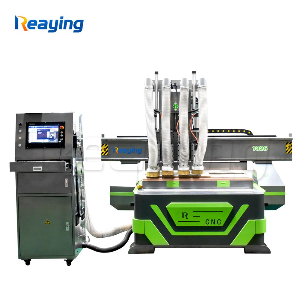 Us 15639 08 8 Off 1325 Axis Nc Studio Controller Cnc Wood Router 3 Axis Cnc Milling Machine With 4 Spindle Head In Wood Routers From Tools On