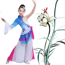 Songyuexia New Kids Plaza Dance Yangko Costume Han Performing Set Childrens National