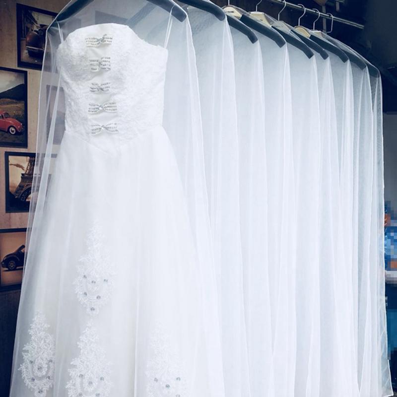 Home & Garden Dust Covers Dust Cover Gauze Net Protection Cap Scratch Resistant Clothes Guard Reusable Wedding Dress Washable High Quality Goods