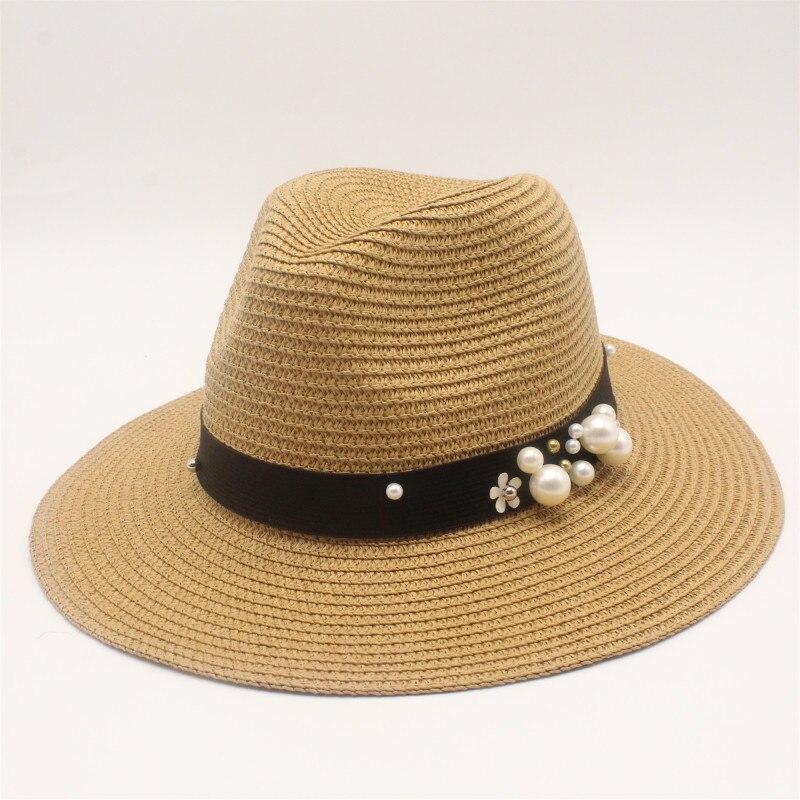 En Coton Noir Trilby Vintage Style FEDORA Chapeau Soleil