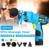 Electronic Therapy Body Massage for Gun High Frequency Vibrating Massage for Gun Body Relaxing for Gun Relief Pains Massager