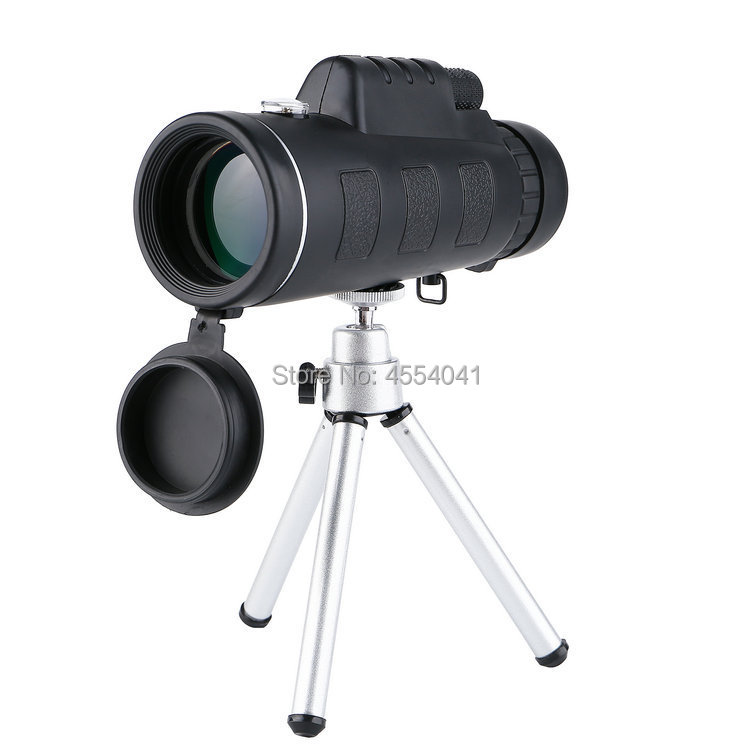 50x60 high power HD binoculars portable eyeglasses bracket mobile phone photo handle