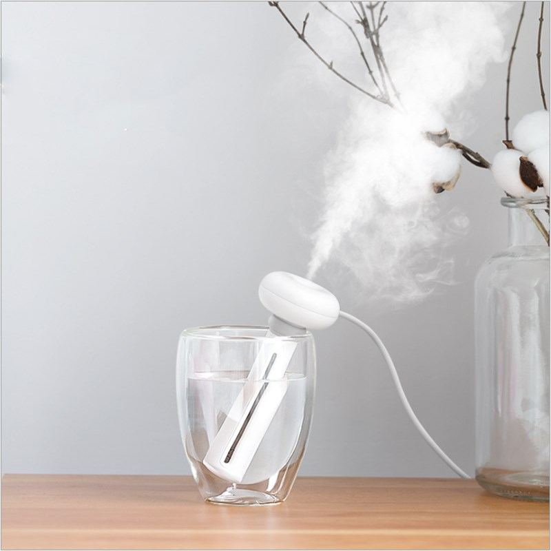 Donut Humidifier Mini Portable USB Humidifier Negative Ion Air Purifier Antiperspirants For Home Room Car Desk Office Fragrance
