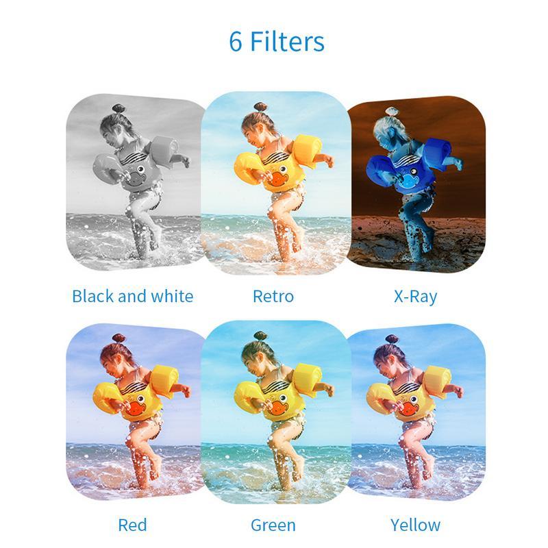 Jouets éducatifs pour enfants en bas âge caméra Photo enfants Mini appareil Photo numérique avec des cadeaux de photographie pour les plus de 3 ans - 4