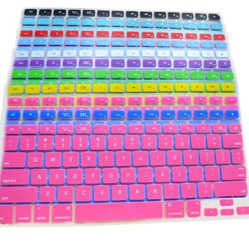 1 PC Keyboard Silikon Kulit Pelindung Case Penutup untuk Apple MacBook Pro 13/15/17 Inch Laptop keyboard Cover