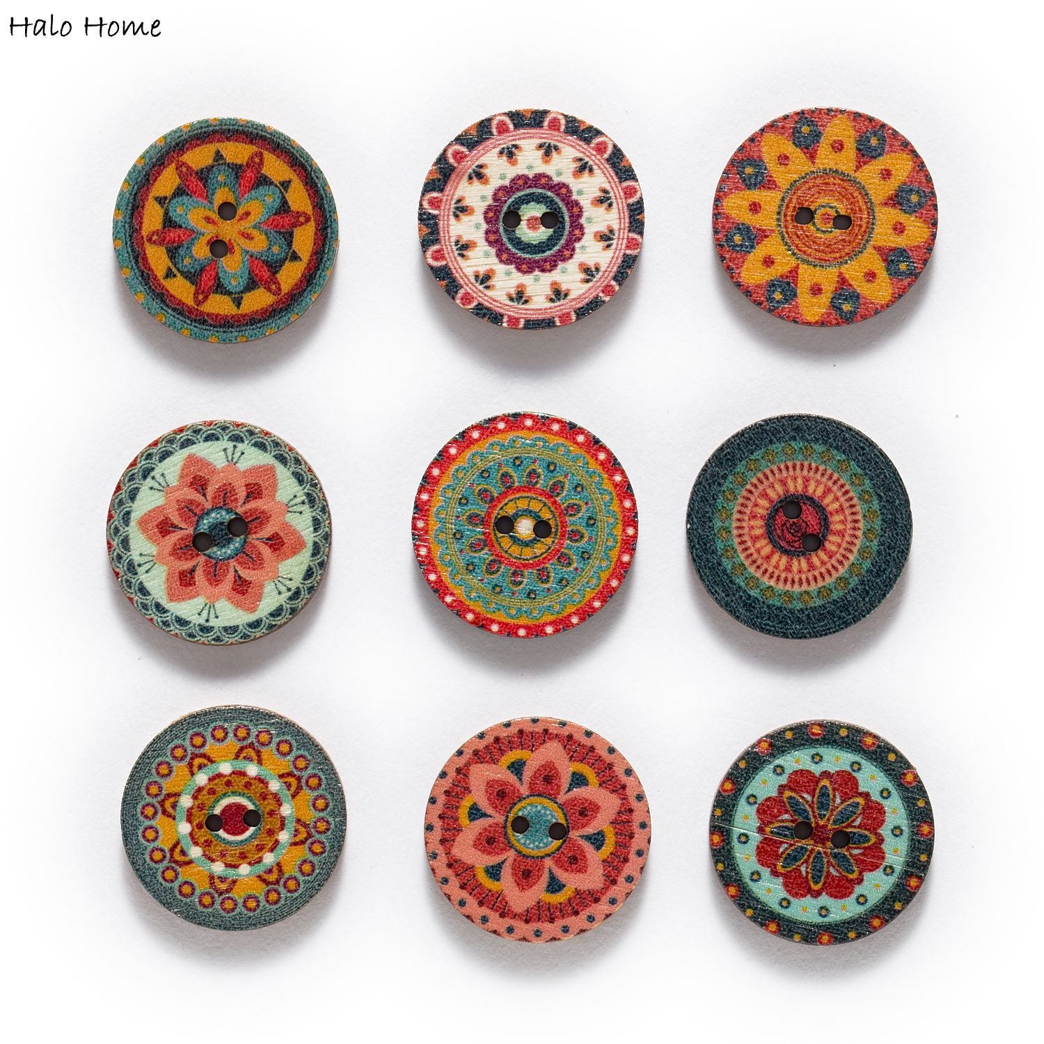 50pcs Retro series Wood Buttons for Handwork Sewing Scrapbook Clothing Crafts Accessories Gift Card Decor 20 50pcs Retro series Wood Buttons for Handwork Sewing Scrapbook Clothing Crafts Accessories Gift Card Decor 20-25mm