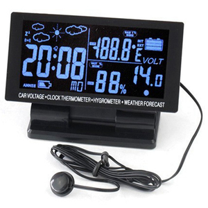 4 In 1 Digital Car Thermometer