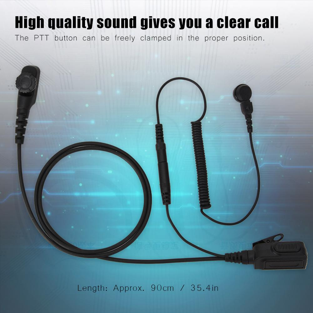 Wireless Walkie-talkie Headset Acoustic Tube Headphone for PD780 2019 Hot