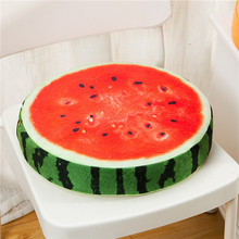 GIANTEX Soft 3D Print Plush Fruit Cushion Home Office Kitchen Decor Chair Pad Seat Cushion Pillow Buttocks Chair Cushion 20