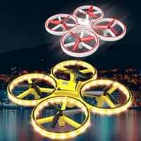 Drone RC quadrirotor main Induction maintien d'altitude capteur de gravité infrarouge évitement d'obstacles 2.4G télécommande quadrirotor jouet