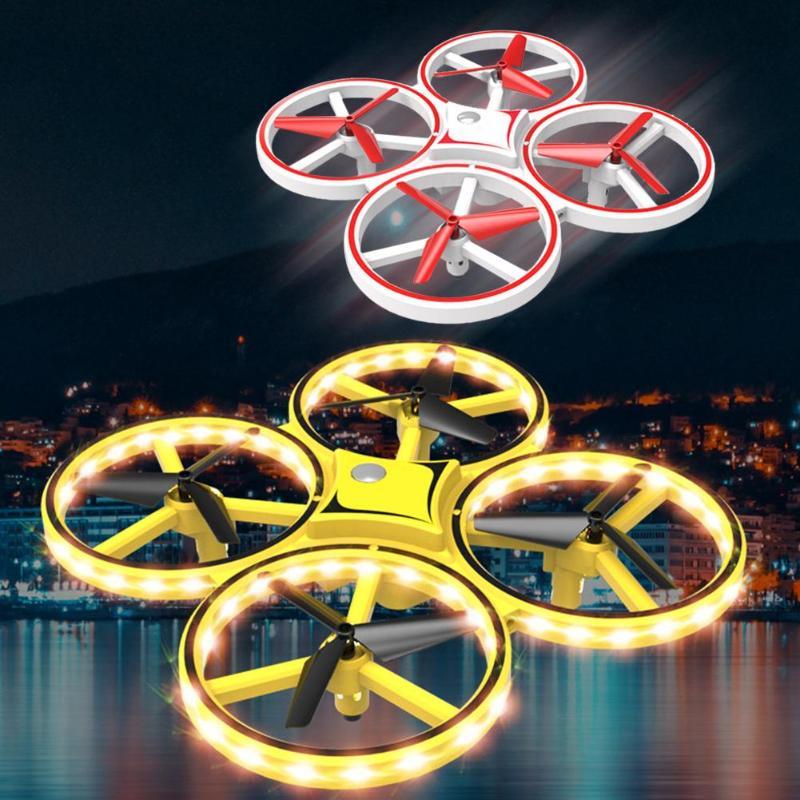 RC Drone Quadcopter mano inducción altitud mantener Sensor de gravedad infrarrojo evitación de obstáculos 2,4G Control remoto Quadcopter juguete