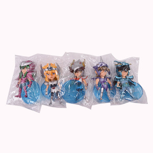 Image 5 - 5 pcs/set Anime Saint Seiya Knights of the Zodiac Action Figure PVC Figurine Collectible Model Christmas Gift Toy