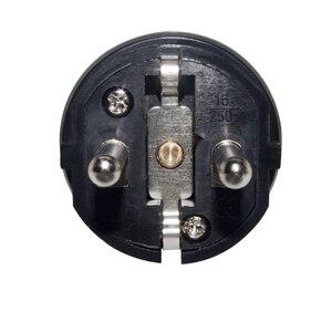 Image 4 - 4000 W a prueba de agua IP54 EU enchufe Industrial de energía eléctrica macho Shuko enchufe Rewireable enchufe adaptador de toma de corriente cable de extensión