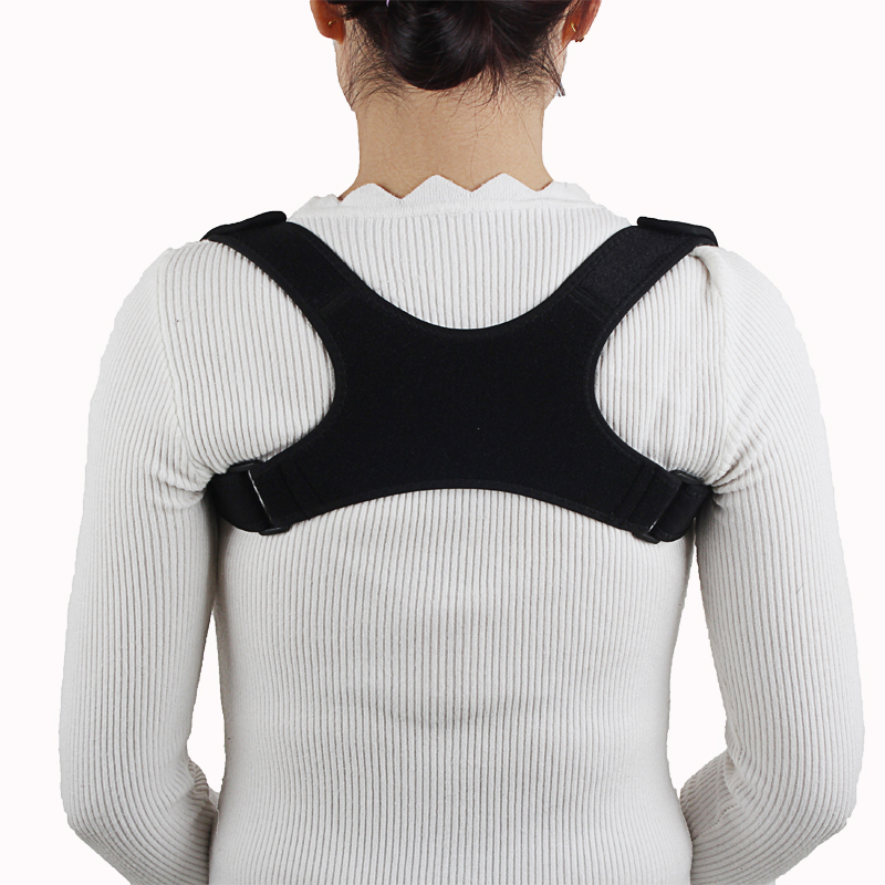 Купить с кэшбэком Cross-Border for New Style Back Correction with Kyphosis Correction Breathable Clavicle Posture corrector Adjustable Correction