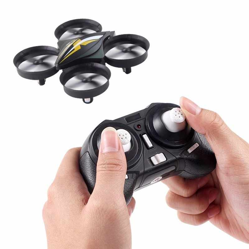 Mini Drone Drone Quadcopter Remote Control Quadrocopter RC Helikopter 2.4G 6 Axis Gyro Drone dengan Headless Modus VS H36 e010 Drone