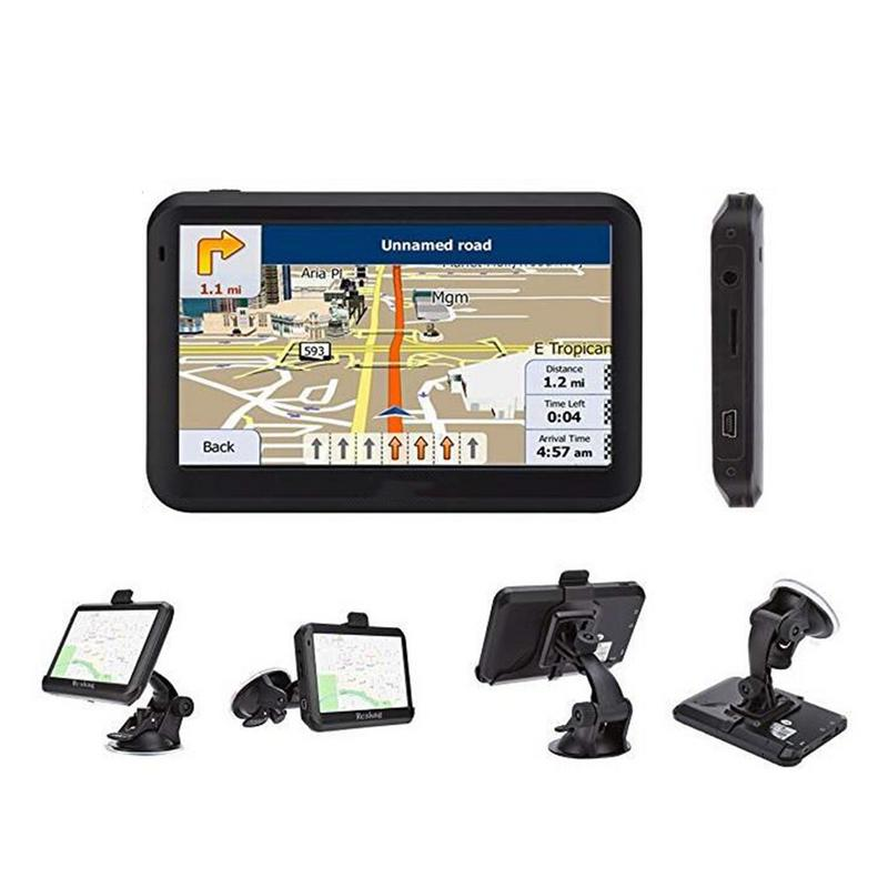 Car GPS Car-Gps-System Navigation Automobile Touch-Screen 5inch South-America Europe